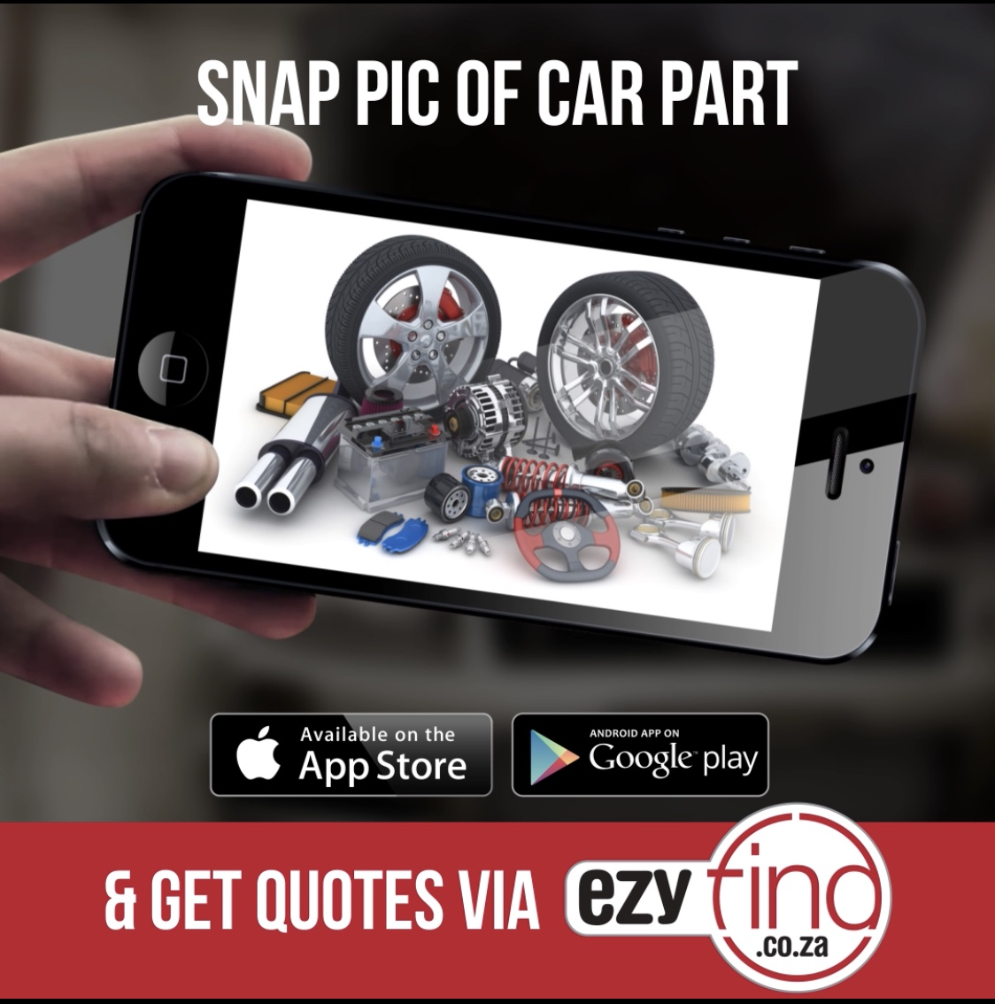 snap picture of car part and obtain multiple quotes